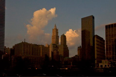 Woolworth Sunset