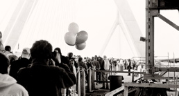 BW - Zakim Bridge Opening