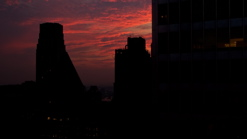 Manhattan - Rooftop Sunset