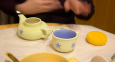 Pottery Painting - Cup and Pot