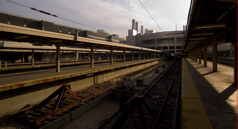 South Station - Vanishing Platform